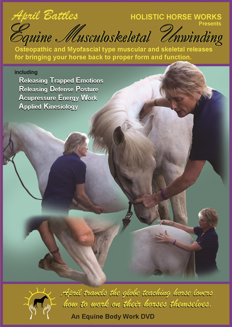 """Level 1 """"Equine Musculoskeletal Unwinding"""" Home Study -Watch Instantly [NO DVD] -includes 30 minute Skype session"""